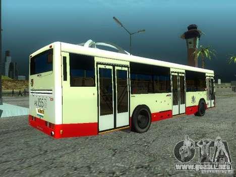 NEFAZ 5299 10-32 para GTA San Andreas left