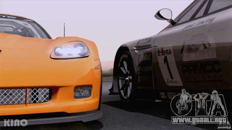 Aston Martin Racing DBRS9 GT3 para el motor de GTA San Andreas