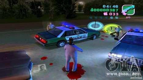 El fluir de la sangre para GTA Vice City segunda pantalla