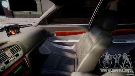 Chevrolet Evanda para GTA 4 vista interior