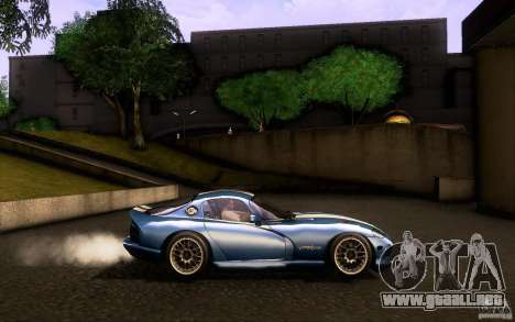 Dodge Viper GTS Coupe TT Black Revel para visión interna GTA San Andreas