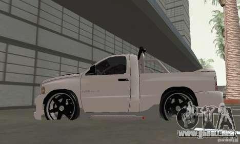 Dodge Ram SRT-10 Tuning para la visión correcta GTA San Andreas