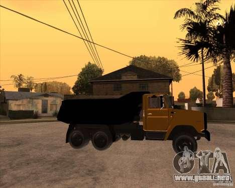ZIL MMZ 4516 para la visión correcta GTA San Andreas