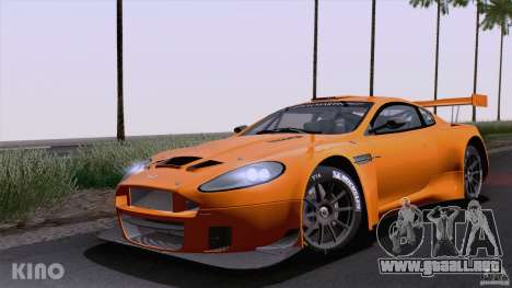 Aston Martin Racing DBRS9 GT3 para GTA San Andreas vista posterior izquierda