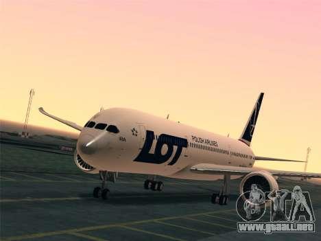 Boeing 787-9 LOT Polish Airlines para GTA San Andreas interior