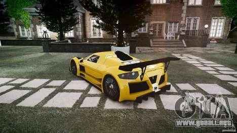 Gumpert Apollo Sport v1 2010 para GTA 4 visión correcta