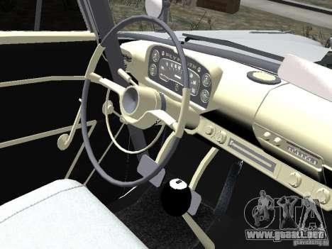 Plymouth Savoy 57 para GTA 4 vista hacia atrás