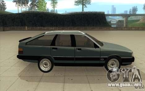 Audi 100 Avant Quattro para visión interna GTA San Andreas