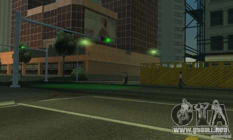 Lámparas de color neón para GTA San Andreas sexta pantalla