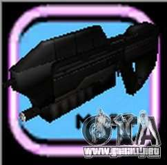 MA5B-Sturmgewehr beta v.1.0 para GTA Vice City quinta pantalla