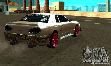 Elegy Drift Masters Final para GTA San Andreas vista hacia atrás