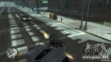 Super Bikes para GTA 4 adelante de pantalla