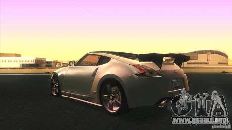 Nissan 370Z Drift 2009 V1.0 para GTA San Andreas interior