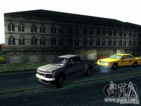 Chevrolet Colorado 2003 para GTA San Andreas vista posterior izquierda