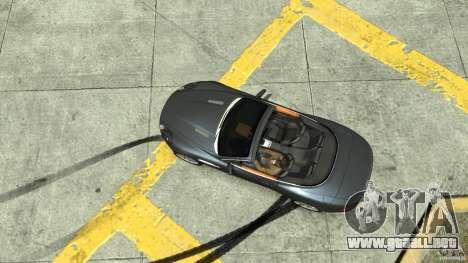 Aston Martin Volante DB9 para GTA 4 visión correcta