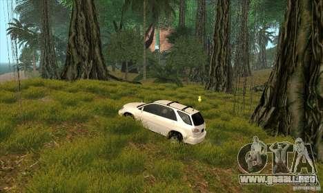 Isla tropical para GTA San Andreas quinta pantalla