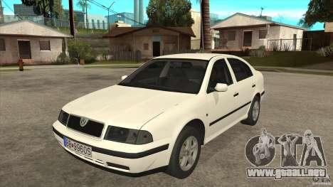 Skoda Octavia 1997 para GTA San Andreas