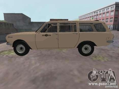 Taxi Volga GAZ-24 02 para GTA San Andreas left