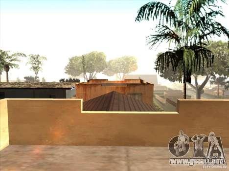 Mapa de Parkour y bmx para GTA San Andreas sexta pantalla