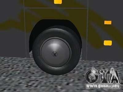 Setra S 417 HDH para la visión correcta GTA San Andreas