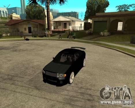 Skoda Superb HARD GT Tuning para GTA San Andreas vista posterior izquierda