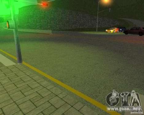 Nuevos caminos en San Fierro para GTA San Andreas quinta pantalla