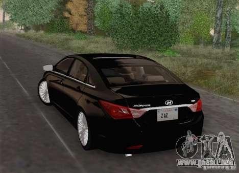 Hyundai Sonata 2012 para la vista superior GTA San Andreas