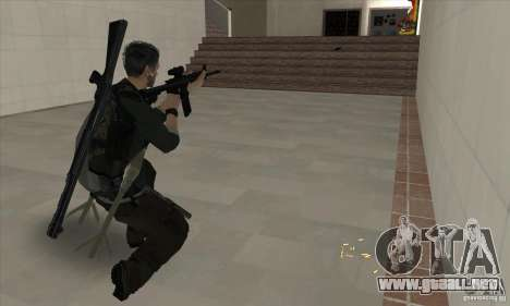 Sam Fisher para GTA San Andreas quinta pantalla