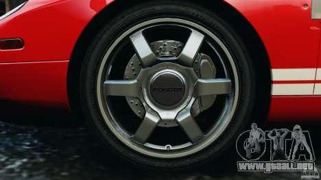 Ford GT 2005 v1.0 para GTA 4 vista lateral