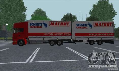 Scania R620 imán para visión interna GTA San Andreas