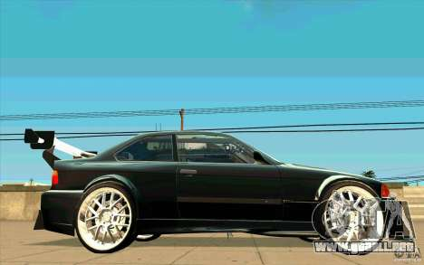 NFS:MW Wheel Pack para GTA San Andreas décimo de pantalla