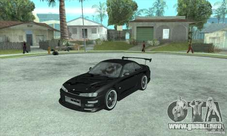 NISSAN SILVIA S14 CHARGESPEED FROM JUICED 2 para GTA San Andreas