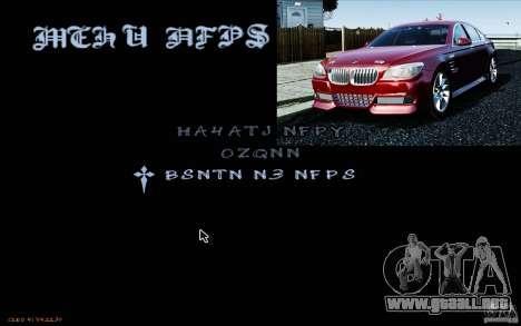 HUD de M0r1s para GTA San Andreas segunda pantalla