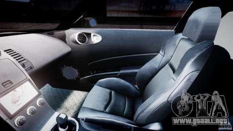 Nissan 350Z Veilside Tuning para GTA 4 vista interior
