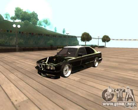 BMW M5 E34 Street para GTA San Andreas