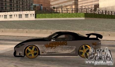Mazda RX-7 MyGame Drift Team para GTA San Andreas left