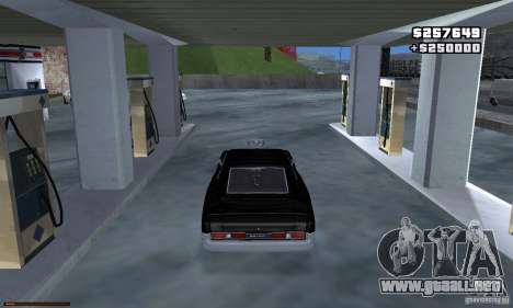 Gasolina único sensor para GTA San Andreas