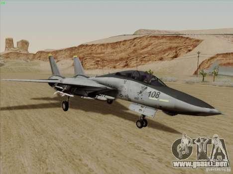 F-14 Tomcat Warwolf para GTA San Andreas