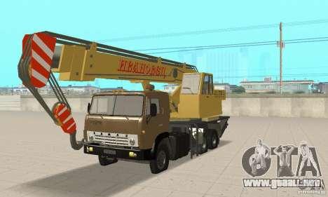 KAMAZ 53213 POLICÍA 4572 para GTA San Andreas
