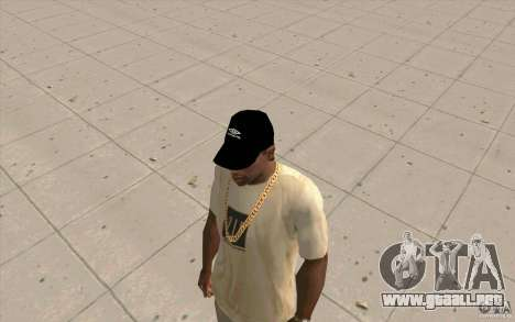 Negro tapa umbro para GTA San Andreas