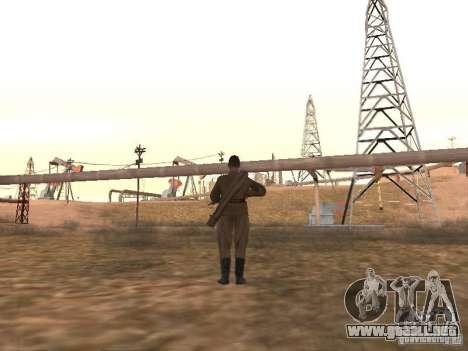 Un soldado soviético para GTA San Andreas tercera pantalla