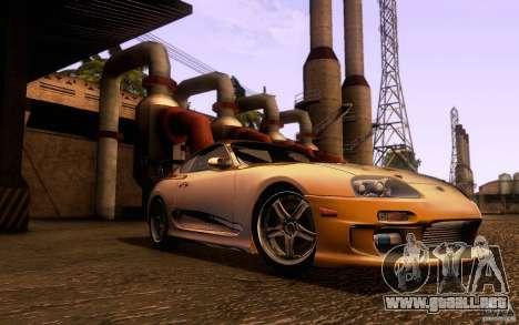 Toyota Supra Top Secret para GTA San Andreas left