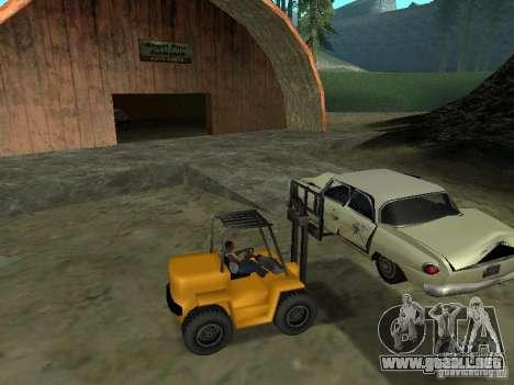 Cargador para GTA San Andreas left
