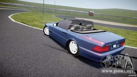 Mercedes-Benz SL500 para GTA 4 Vista posterior izquierda