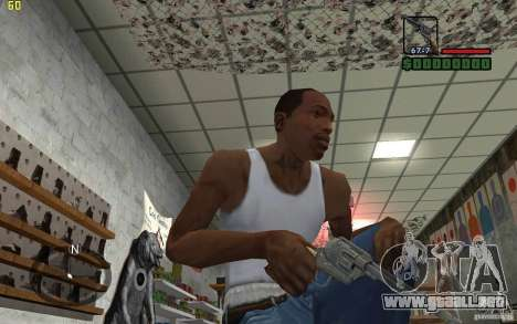 Colt Single Action Army para GTA San Andreas tercera pantalla