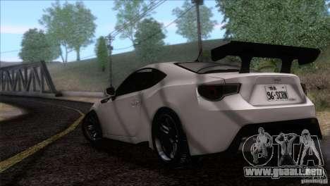 Scion FR-S 2013 para GTA San Andreas left