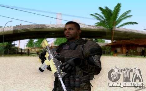Salazar, de bacalao: BO2 para GTA San Andreas sucesivamente de pantalla
