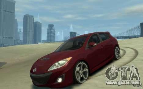 Mazda 3 MPS 2010 para GTA 4