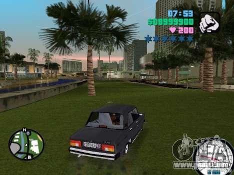 Vaz 2105 para GTA Vice City visión correcta