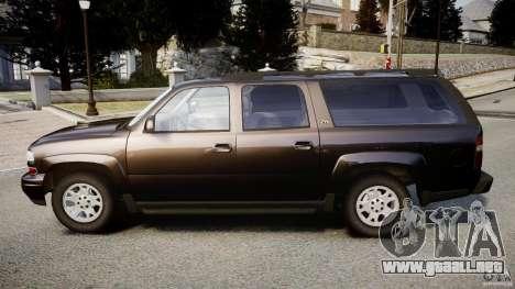 Chevrolet Suburban Z-71 2003 para GTA 4 left
